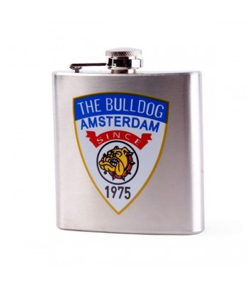 The Bulldog Stainless Hip Flask