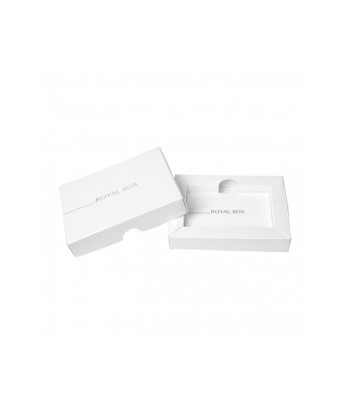 Royal Box with Steel Pipe - White