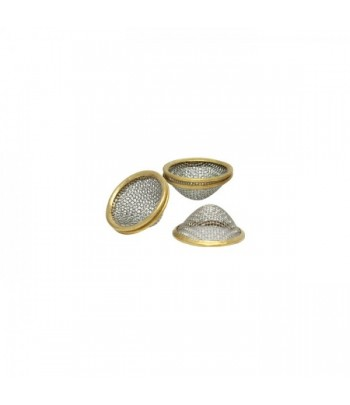 Reusable Brass Rim Conical Pipe Screens 20mm