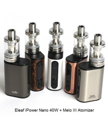 Eleaf iPower Nano + Melo 3