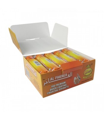 Premium Quick Lighting Charcoal Al Fakher 33mm (100τεμ.)