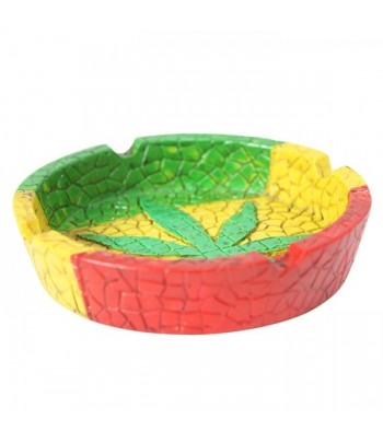Rasta Leaf Ashtray