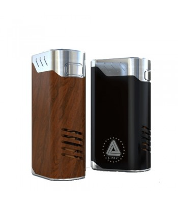 IJOY Limitless Lux Battery Cover Wood Grain & Black Crackle