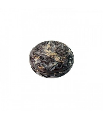 HQ 2 Part Stone Grinder - 45 x 20mm - Leaf