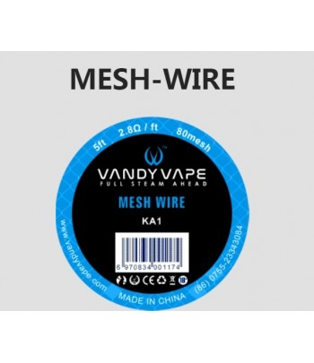 Vandyvape KA1 Mesh Wire 5ft 2.8Ω/ft 80mesh