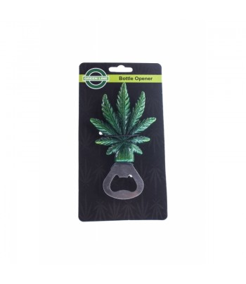 Green Leaf Bottle Opener