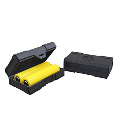Double 18650 battery case
