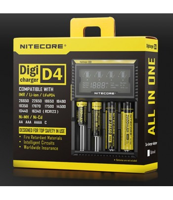 CHARGER NITECORE D4