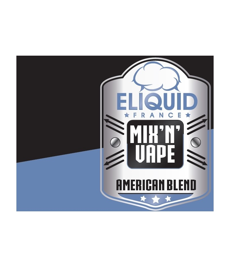 Eliquid France Mix and Vape - Single American Blend