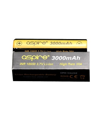 Aspire 18650 batteries 3000mah