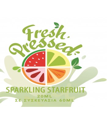 Fresh Pressed Sprakling Starfruit Flavour Shot