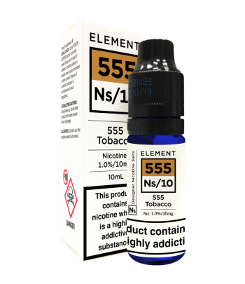 Element 555 Tobacco Nic Salt 20mg
