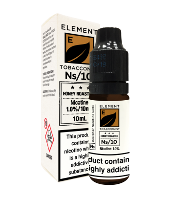 Element Honey Roasted Tobacco Nic Salt 20mg