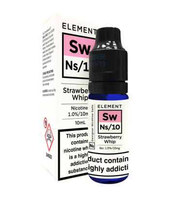 Element Strawberry Whip Nic Salt 20mg