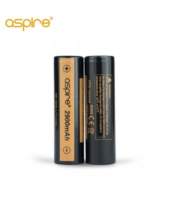 Aspire 18650 batteries 2900mah 20A