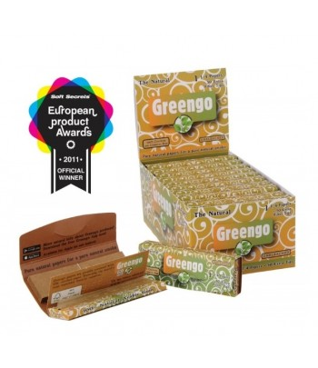 Display GreenGo Unbleached 1 1/4 2in1 24pcs
