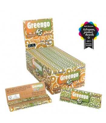 Display GreenGo Unbleached 1 1/4 Papers 50pcs