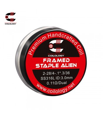 Coilology Staggered Fused Clapton Coil Set ss316 0,2ohm