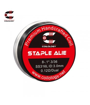 Coilology Staple Alien Coil Set ss316 0,12ohm