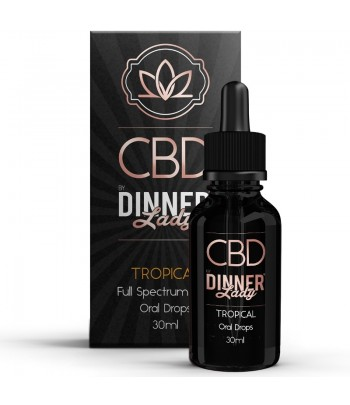 Dinner Lady Oral Drops Tropical 30ml