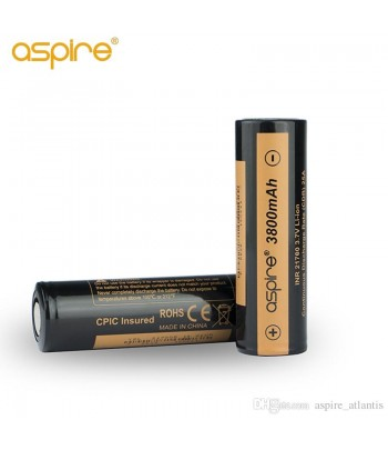 Aspire 21700 batteries 3800mah 25A