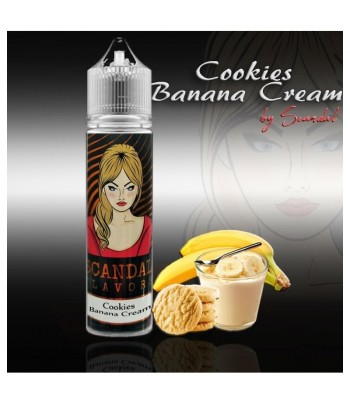 Scandal Flavour Shot Cookies Banana Cream