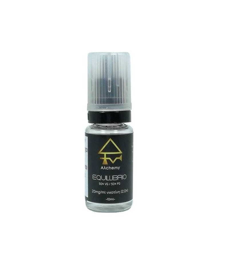 Alchemy Nicotine Booster Equillibrio 10ml 50PG/50VG 20mg
