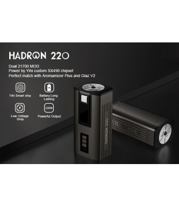 Steam Crave Hardon 220 Mod