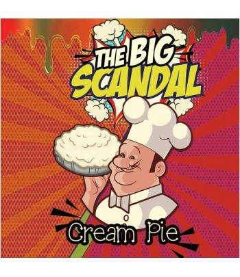 Big Scandal Flavour Shot Cream Pie 120ml