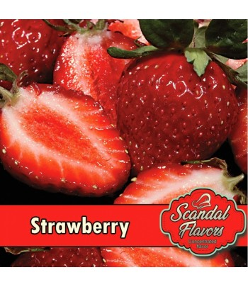 Scandal Concentrate Flavour Strawberry 10ml