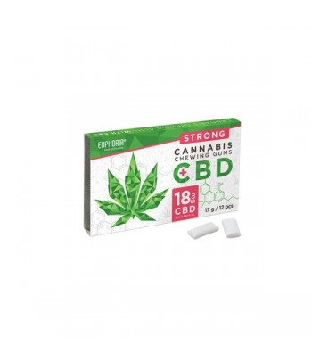 CBD CHEWING GUM17g STRONG 18mg