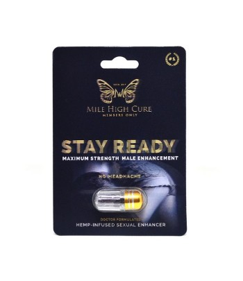 Mile High Cure Hemp Infused Sexual Enhancement Pill Male