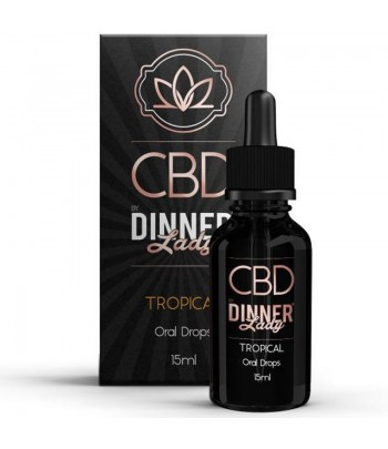 Dinner Lady Oral Drops Tropical 15ml